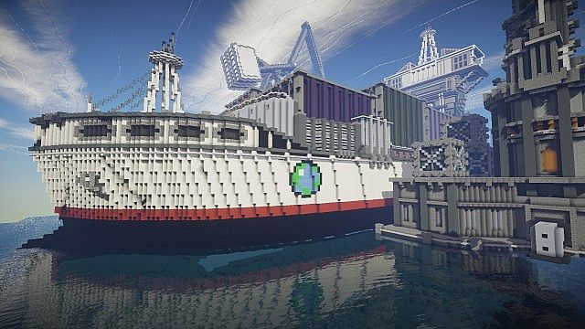 BlockWorks Inc Minecraft building ideas city iron industrial 7