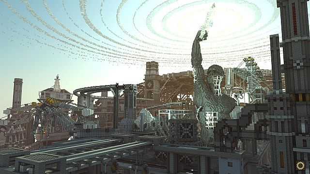 BlockWorks Inc Minecraft building ideas city iron industrial