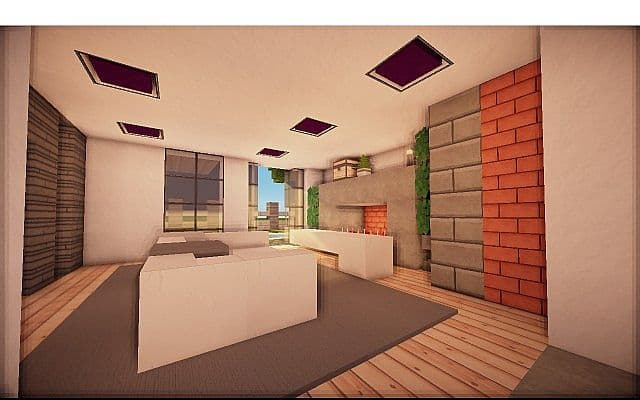 Fire Station Converted House modern building ideas minecraft 8