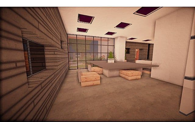 Fire Station Converted House modern building ideas minecraft 9