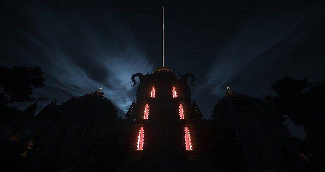Galos Citadel Minecraft building ideas city town castle dragon 8