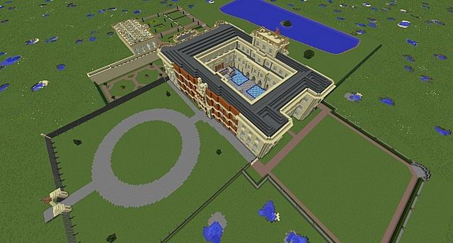 Lyme park minecraft building ideas sandstone brick 11