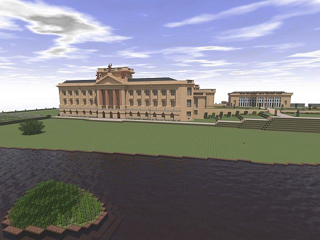 Lyme park minecraft building ideas sandstone brick 2