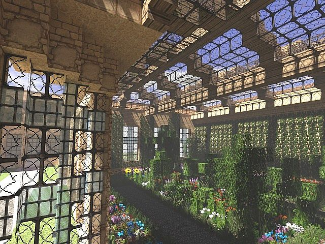 Lyme park minecraft building ideas sandstone brick 3