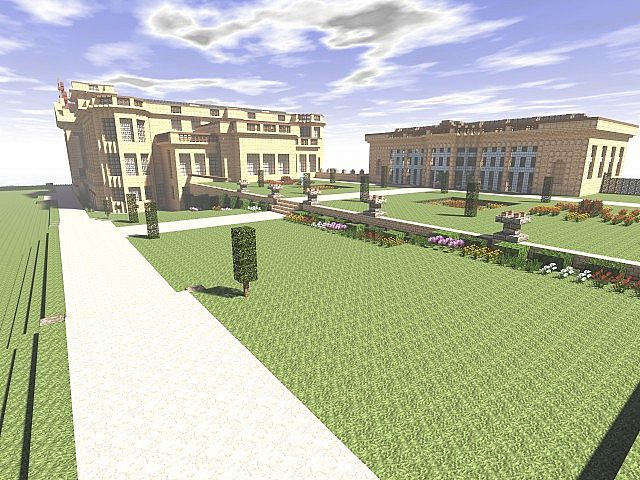 Lyme park minecraft building ideas sandstone brick 4