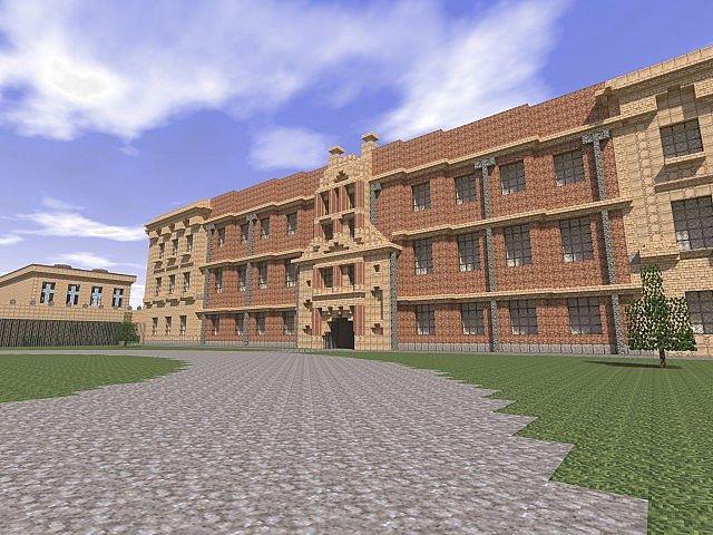 Lyme park minecraft building ideas sandstone brick 6