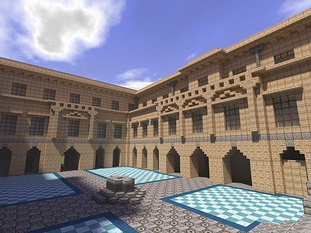 Lyme park minecraft building ideas sandstone brick 7