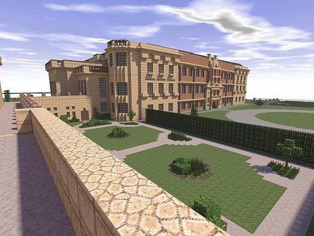 Lyme park minecraft building ideas sandstone brick