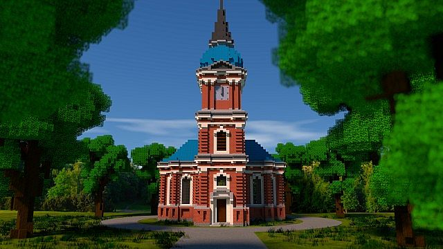 Schelfkirche local church minecraft building ideas town 2