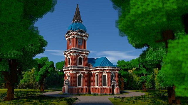 Schelfkirche Local Church Minecraft Building Inc