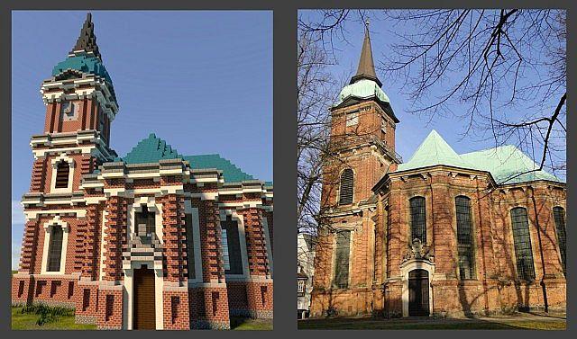Schelfkirche local church minecraft building ideas town 5