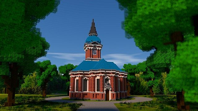 Schelfkirche local church minecraft building ideas town 6