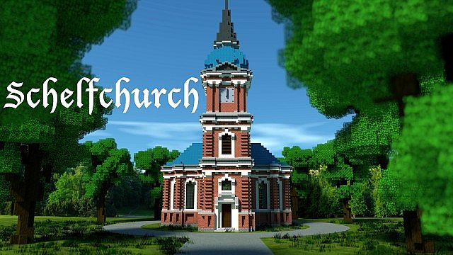Schelfkirche local church minecraft building ideas town