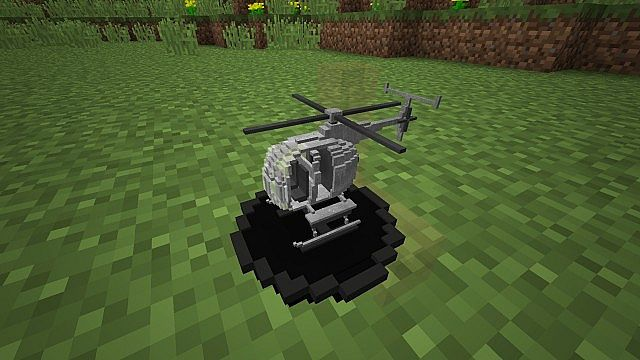 Vanilla RC Helicopter Minecraft building redstone command model