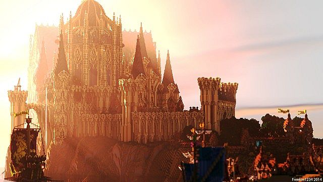 Cair Paravel minecraft castle building ideas 2