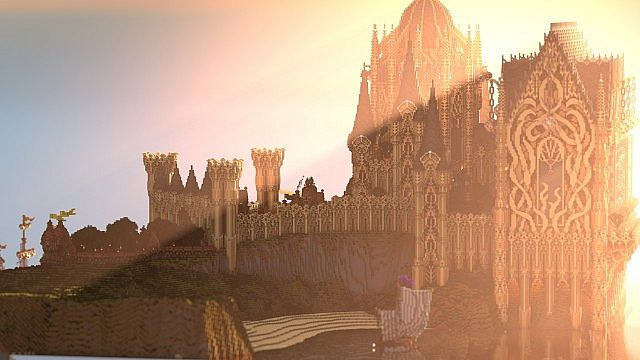 Cair Paravel minecraft castle building ideas 3