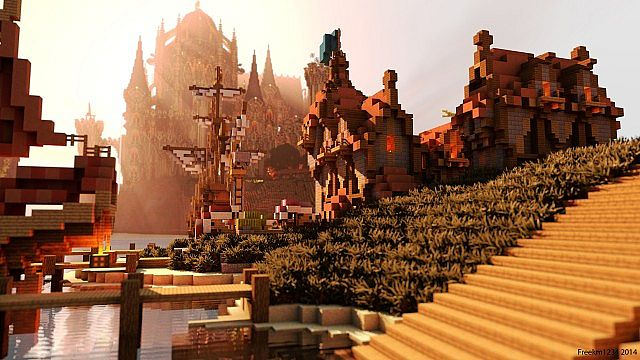 Cair Paravel minecraft castle building ideas 4