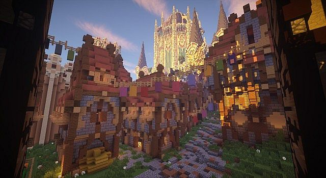 Cair Paravel minecraft castle building ideas 7