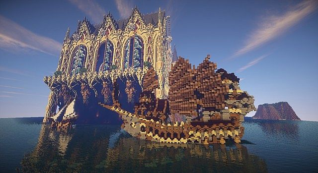 Cair Paravel minecraft castle building ideas 9