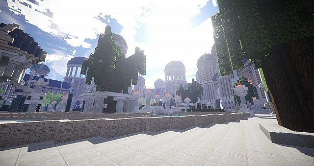 Castellum Romanorum Fantasy Roman spawn hub serer minecraft building ideas 2