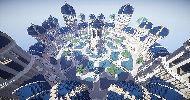Castellum Romanorum Fantasy Roman spawn hub serer minecraft building ideas 8