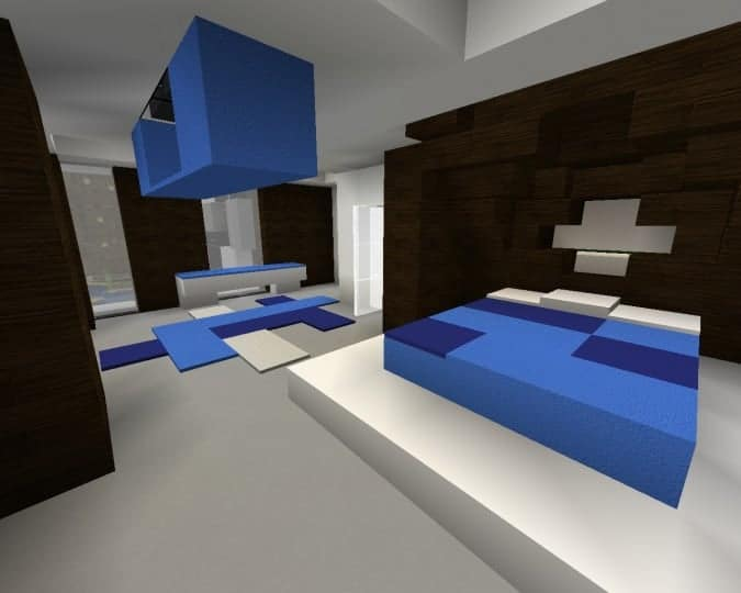 Mediterranean Beach House minecraft building idea home modern 13