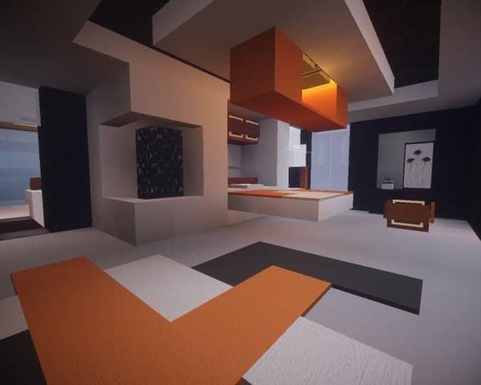 Mediterranean Beach House minecraft building idea home modern 14
