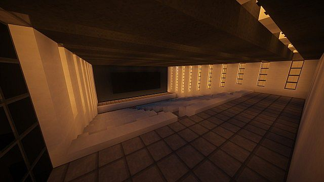 T E C P R O Culture Center WoK Minecraft building office modern ideas 10