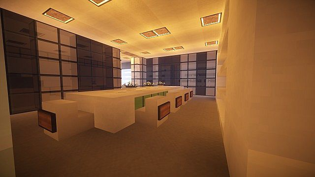 T E C P R O Culture Center WoK Minecraft building office modern ideas 15