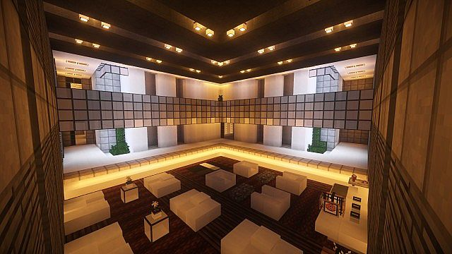 T E C P R O Culture Center WoK Minecraft building office modern ideas 9