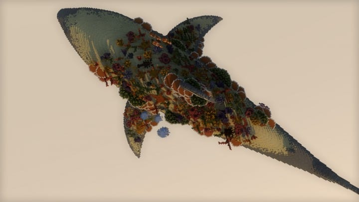 Alive Coral Reef 24h Challenge Download minecraft building ideas floating top