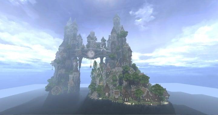 Clockwork Isle Minecraft castle building ideas 2