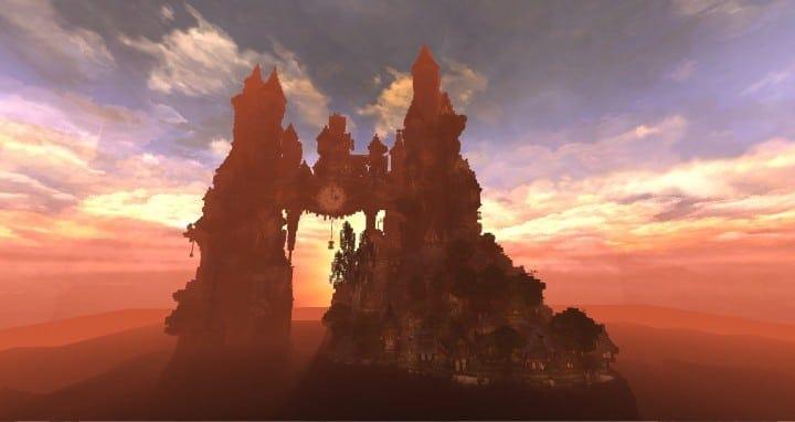 Clockwork Isle Minecraft castle building ideas 3