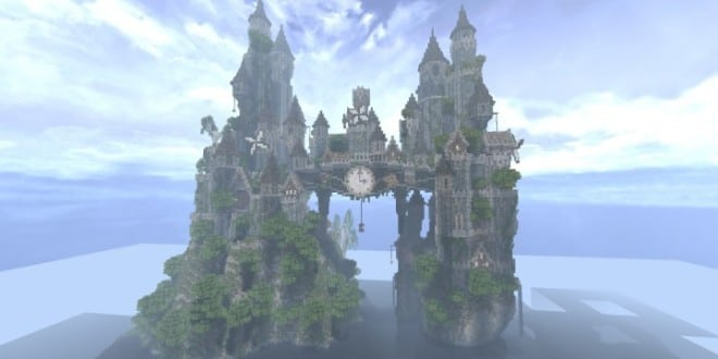 Clockwork Isle Castle Minecraft Building Inc
