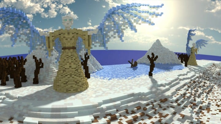 Remnants of a Forgotten World Download Minecraft building ideas city town walls 10