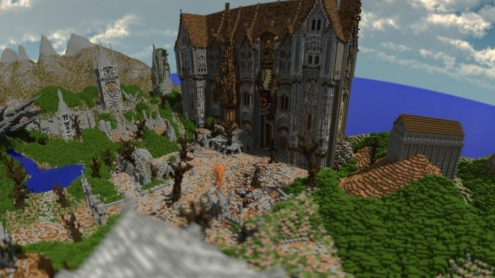 Remnants of a Forgotten World Download Minecraft building ideas city town walls 12