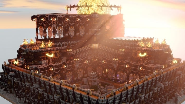 Remnants of a Forgotten World Download Minecraft building ideas city town walls 4