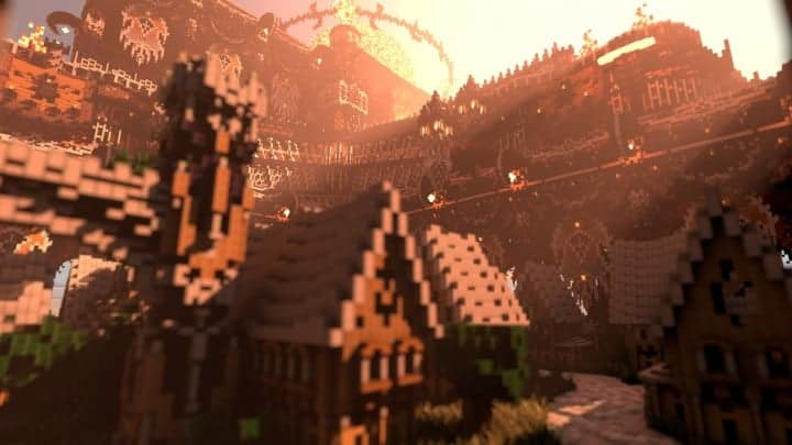 Remnants of a Forgotten World Download Minecraft building ideas city town walls 5