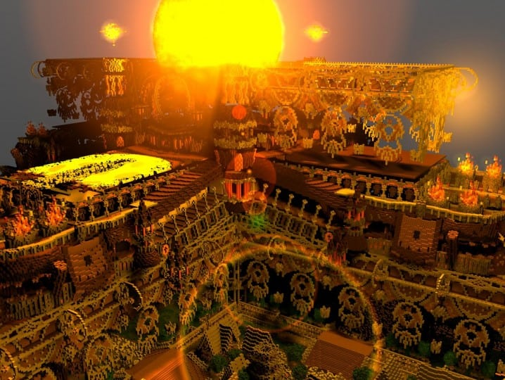 Remnants of a Forgotten World Download Minecraft building ideas city town walls 83