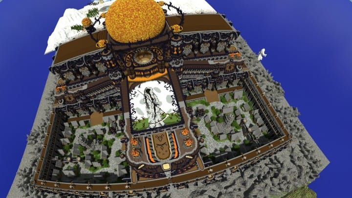 Remnants of a Forgotten World Download Minecraft building ideas city town walls 9