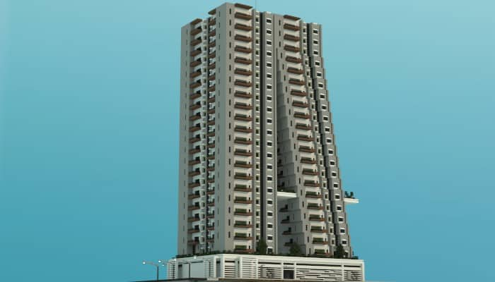 Tilt A Modern Apartment Building Minecraft Building Inc