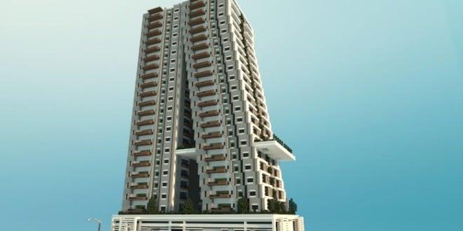 Tilt a modern apartment building minecraft building ideas tower