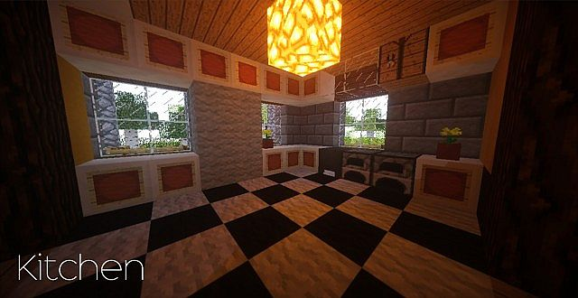 Country Home Ranch House farm minecraft building ideas 2 story 10
