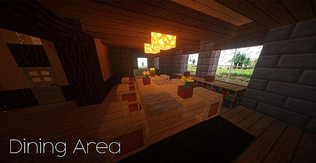 Country Home Ranch House farm minecraft building ideas 2 story 11
