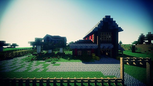 Country Home Ranch House And Farm Minecraft Building Inc