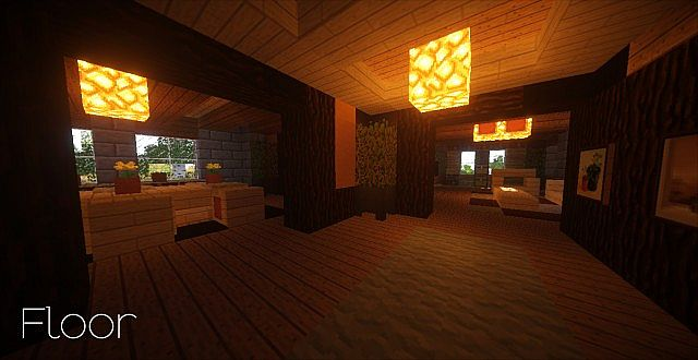 Country Home Ranch House farm minecraft building ideas 2 story 8