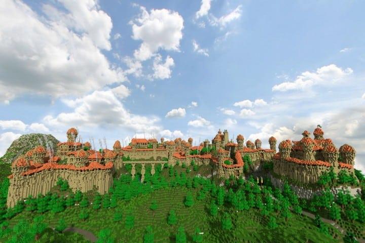 Dale City of men building minecraft ideas castle walls 2