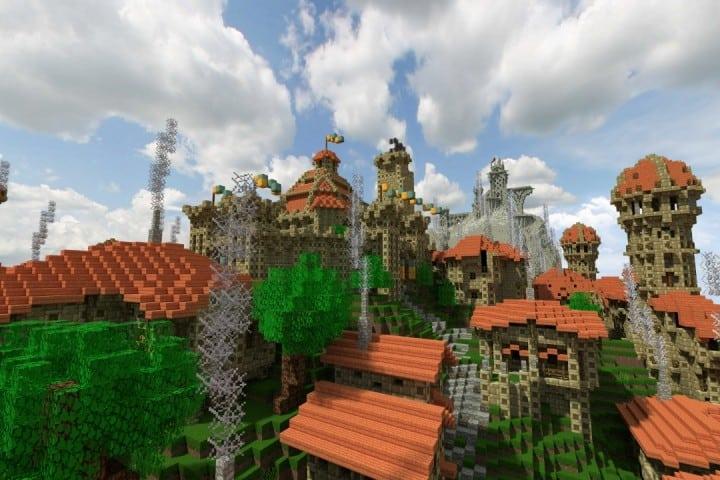 Dale City of men building minecraft ideas castle walls 4