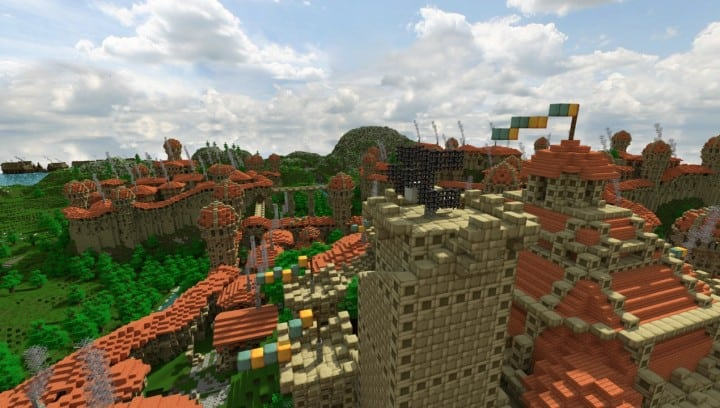 Dale City of men building minecraft ideas castle walls 6