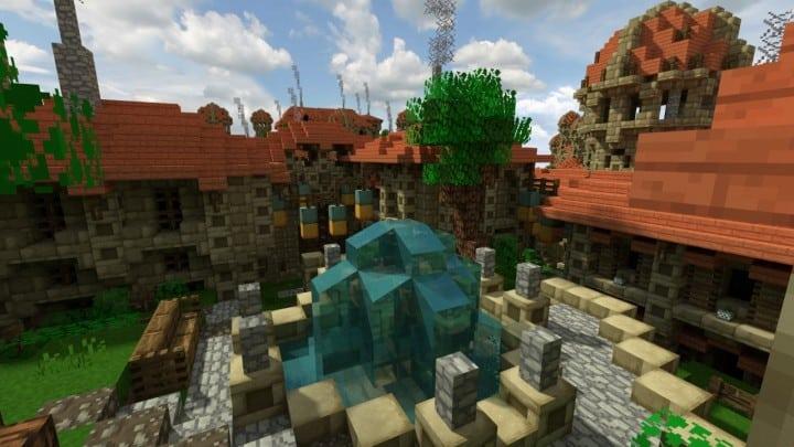 Dale City of men building minecraft ideas castle walls 7
